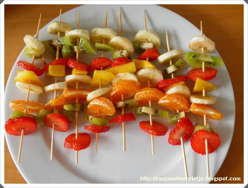 fruit spiesjes