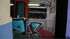 Athens Metro Graffiti