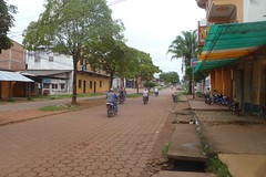 Street in Riberalta, northern Amazon