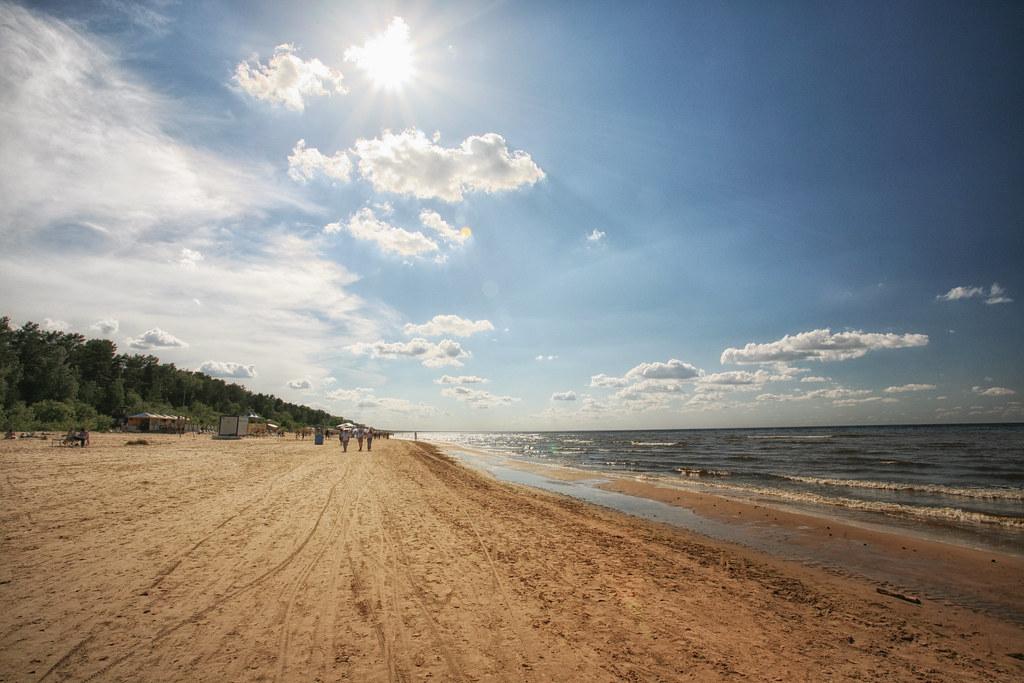 пляж юрмала Jurmala