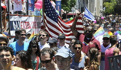 Ambassador Shapiro attended the Gay Pride Parade on Friday, June 8, 2012.