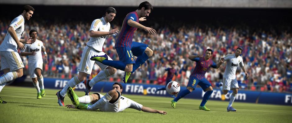 Captura del videojuego FIFA 13