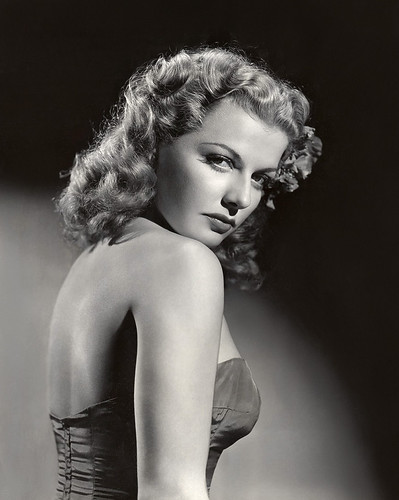Ann Sheridan glamour shot c. 1946 by Jack's Movie Mania