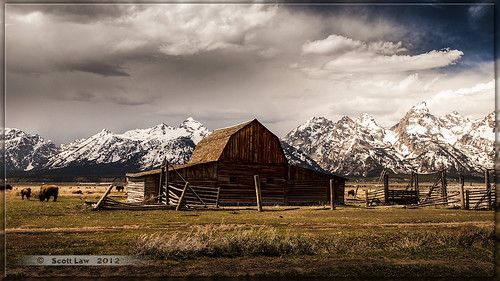 Barn on Mormon Row by Just Used Pixels