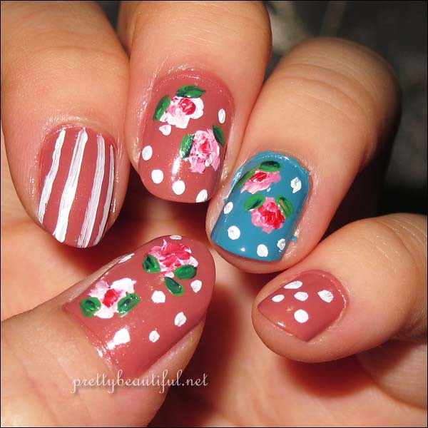 Cath Kidston Nail Art Completed Right