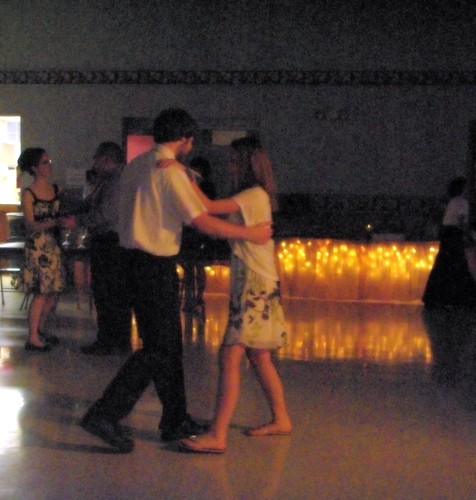 Izzy and a dance partner