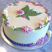 Flower Cake - <span>www.cupcakebite.com</span>