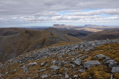 Ben Hope from Meallan Liath Coire Mhic Dhughaill