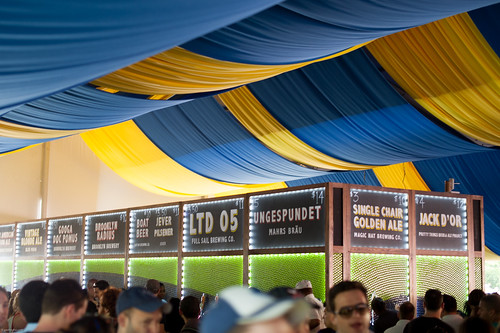Beer Tent, the Great Googa Mooga