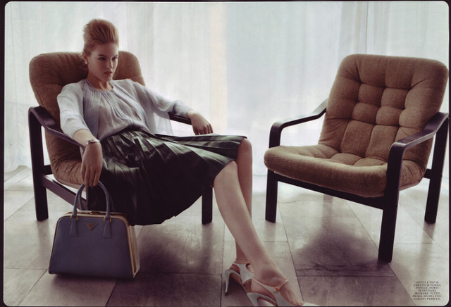 Linnea Regnander by Bruno Dayan (Ladylike - Flair April 2012) 5