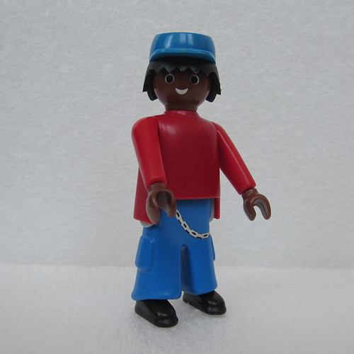 Playmobil Jim Knopf (Jim Button) - custom figure by Dick McJohnnson