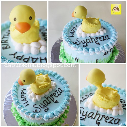 Rubber Duck Cake for Syahreza