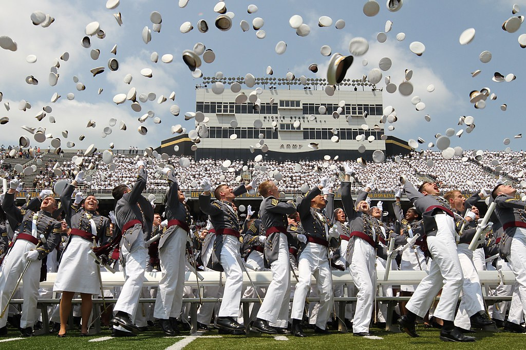 ... West Point Hat Toss  60de9c71cb00