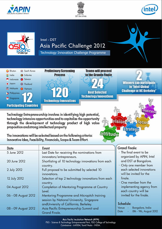 Intel DST Asia-Pacific Challenge 2012