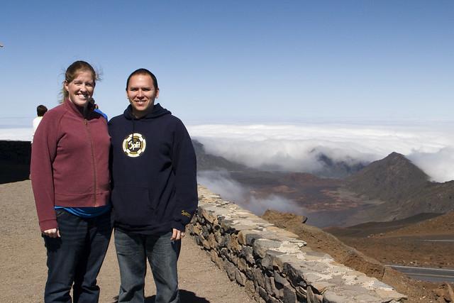 Us atop Haleakala