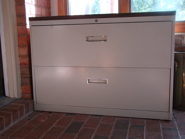 steelcase 42 quot lateral file cabinet flickr photo