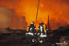Lagerhallenbrand Holzhandlung 29.05.12l