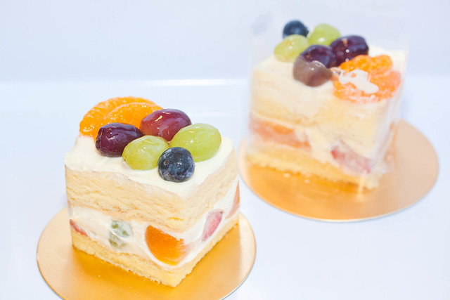 Mixed Fruit Slice Cake @ S$3.00