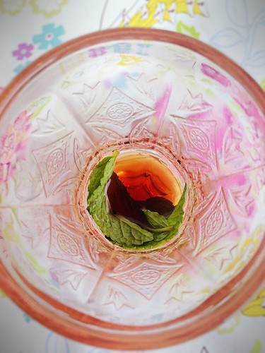 Raspberry Mint Tea 3