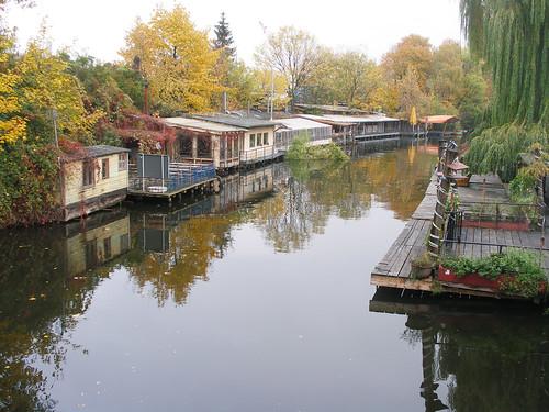 Berlin houseboats
