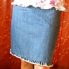 Ultimate summer jeans skirt