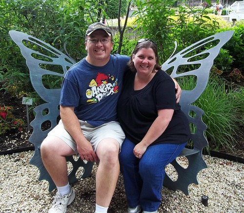 Dave and me at the Akron Zoo