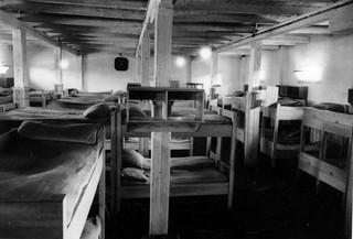 soldiers sleeping quarters