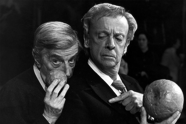 Frederick Ashton and Robert Helpmann in rehearsals for Cinderella © Donald Southern/ROH 1948