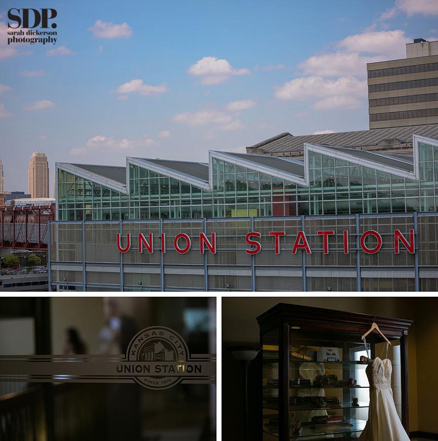 Union Station Kansas City wedding
