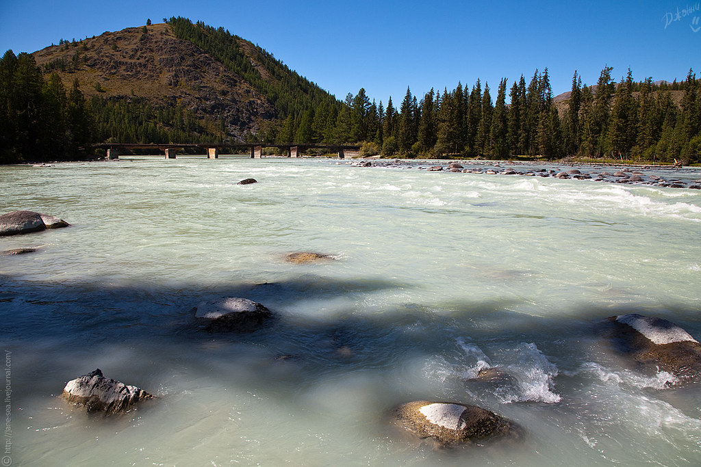 Река Аргут / River Argut