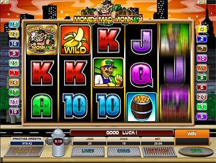 Money Mad Monkey slot game online review
