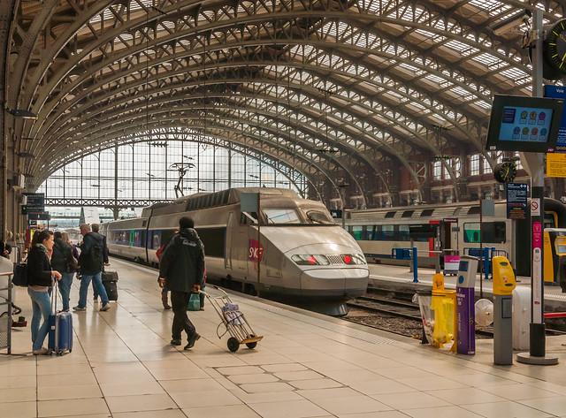 Train station Lille Flandres