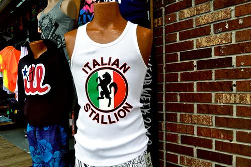 Italian stallion.