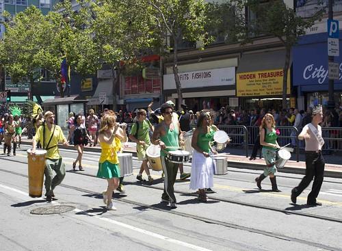 BahÌa percussionists