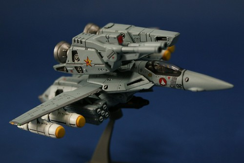 "Macross 1/144 - VF-1S Strike Valkyrie - ""Goldstars"" - 1"