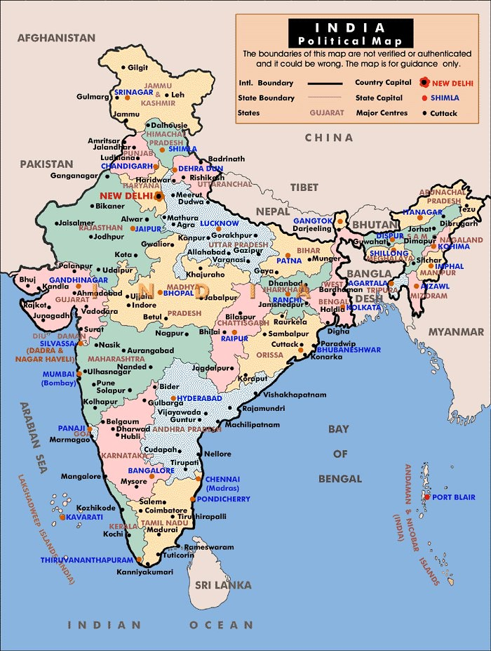 Political Map Of India 2012 Contemporary Map Of India Sh Flickr