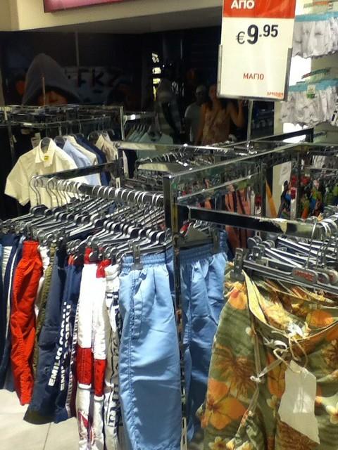 Shorts 9.95 Euro
