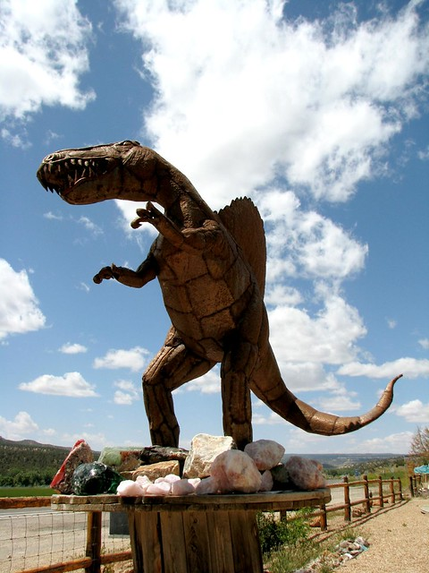 Roadside Spinosaurus