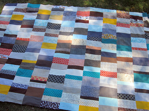 now the quilting...
