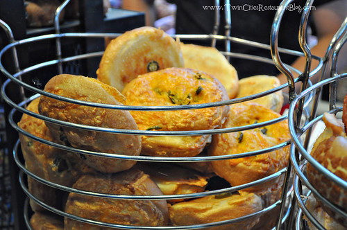 Jalapeno Cheddar Roll at Boudin Sourdough Bakery ~ San Francisco, CA