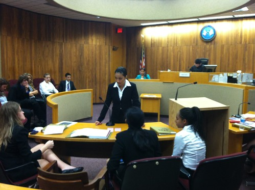 LAWA Conducts the Trial at the Superior Court of the District of Columbia