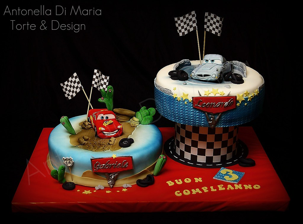 Torte Cake Design Di Cars : antonella di maria torte & design s most interesting ...