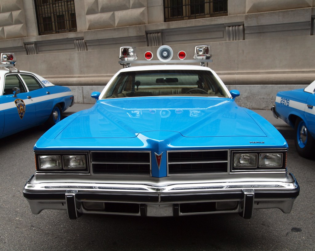 NYC Housing Police Department 1989 Classic NYPD police cars