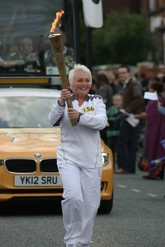 Olympic Torch relay.
