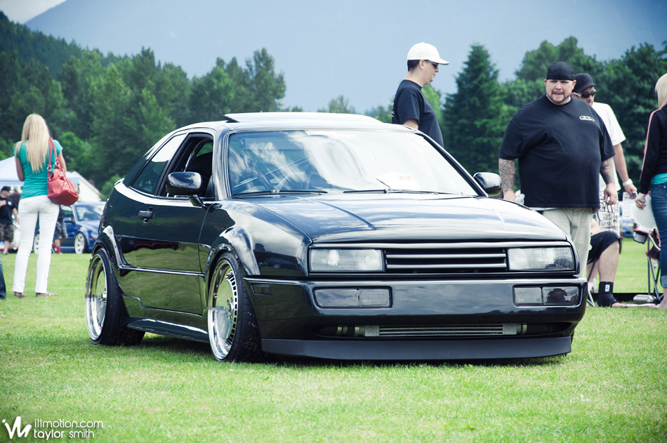 Tyler, a Vancouver local won best interior with his VR6 Corrado