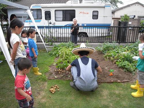 ジャガイモ祭り2012 ナゴムさん 米軍ハウス