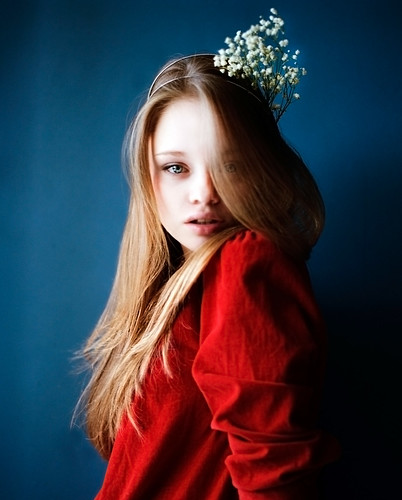 young flower by Elizaveta Musienko