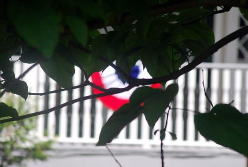 4th - patriotric porch