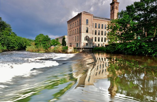 The Weir At Saltaire.