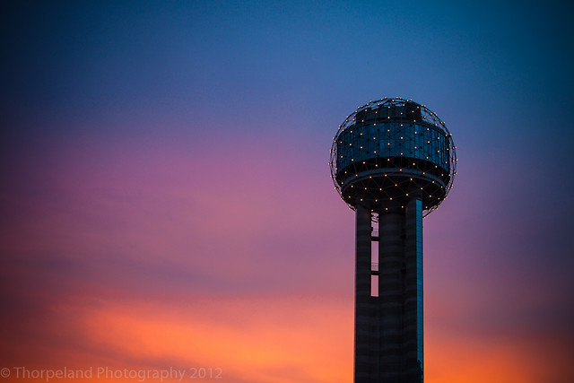 Fading Reunion Tower